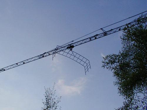 Berceau 40 meter in de lucht